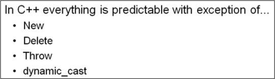 Cpp Predictability