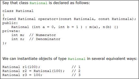 Rational Class