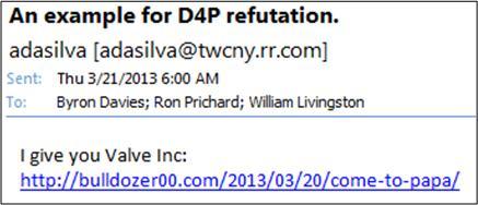 D4P Refutation