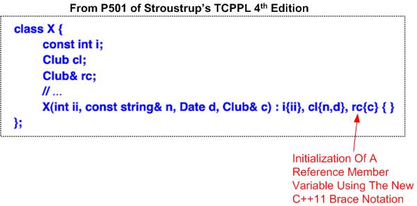 TCPPL ref brace init