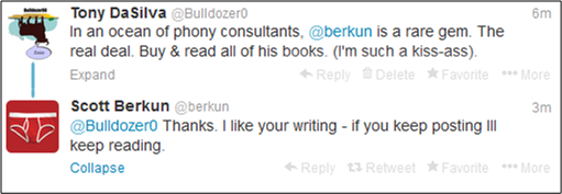 berkun twitter exchange