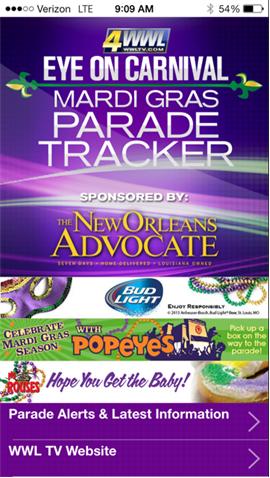 parade tracker