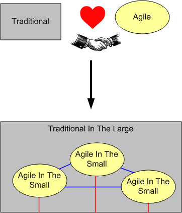agile plus traditional