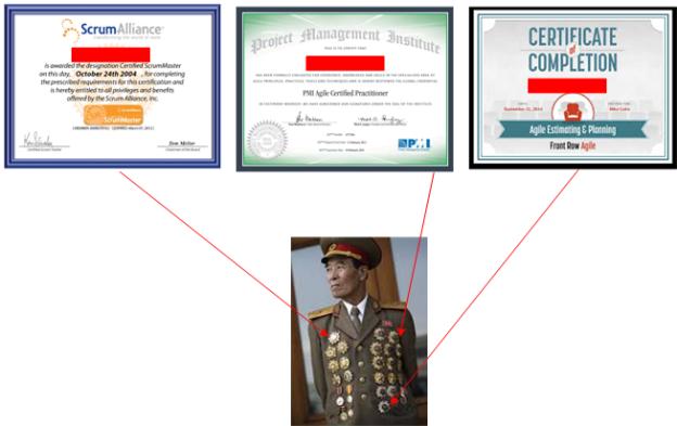 medals not paper