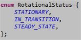Rotational Status