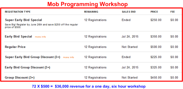 mob workshop